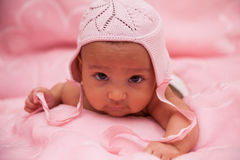 African american baby girl - Black people Stock Photo