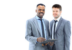 African american background business Stock Photo