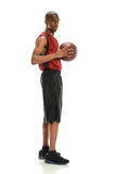 African American Basketball Player Royalty Free Stock Photography