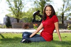 African American Beaty Stock Photo