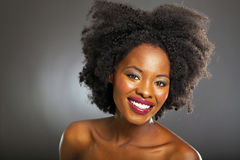 African american beauty Stock Images