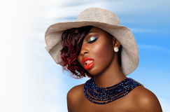 African American Beauty Woman Stock Photos
