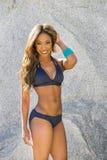 African American Bikini Model Stock Image