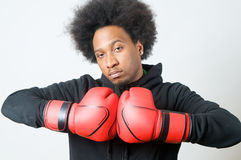 African American Boxer Royalty Free Stock Image