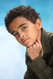 African American boy Stock Images