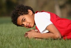 African American Boy Stock Photography