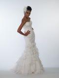 African-American bride Royalty Free Stock Photos