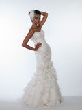 African-American bride Royalty Free Stock Image