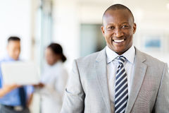 African american business executive Royalty Free Stock Photography