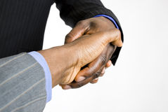 African american business handshake Royalty Free Stock Photography