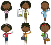 African American Business Lady Stock Image