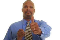 African American business man Stock Image
