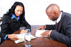 African American Business Partners Stock Photography