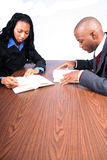 African American Business Partners Royalty Free Stock Photography