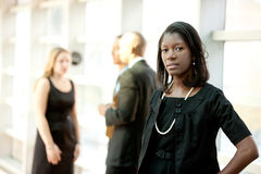 African American Business Woman Stock Photos