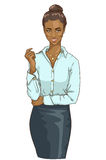 African American business woman Royalty Free Stock Image