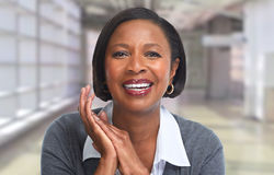 African-American business woman. Royalty Free Stock Photo