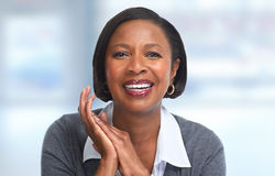 African-American business woman. Stock Images