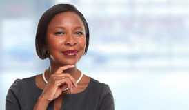 African-American business woman. Stock Photography