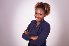 African American business woman portrait Stock Photography