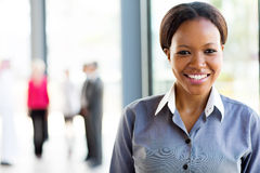 African american business woman Royalty Free Stock Photos