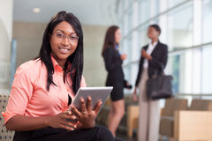 African-american business woman Royalty Free Stock Photography