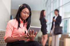 African-american business woman Royalty Free Stock Photos