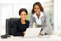 African American Business Women Office Stock Photography