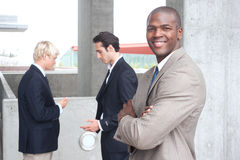 African American Businessman Stock Image