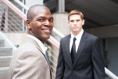 African American Businessman Stock Photo