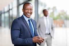 african american businessman Στοκ φωτογραφίες με δικαίωμα ελεύθερης χρήσης