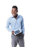 African American businessman with digital tablet Royalty Free Stock Photos