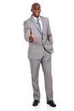 african american businessman handshake Royalty Free Stock Photos