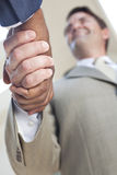 African American Businessman or Man Shaking Hands Stock Photos