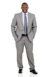 African american businessman standing Stock Images