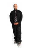 African american Businessman Standing Stock Photography