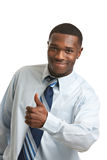 African American Businessman Thumb Up Isolated Royalty Free Stock Images