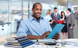 African american businessman. stock photos