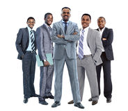 African american businessmans Stock Photo