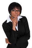 African American businesswoman. Royalty Free Stock Photos
