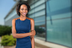 African American businesswoman Stock Photography