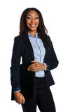 African american Businesswoman Smiling Stock Images