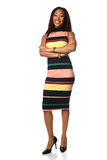 African American Businesswoman Standing Royalty Free Stock Image