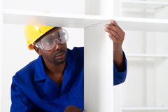 African american carpenter Royalty Free Stock Images