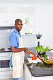 African american chef Royalty Free Stock Image
