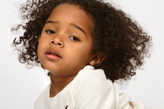 African American Child Stock Photo