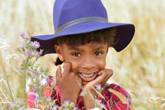African American Child royalty free stock photos
