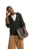 African American College Student Expression Royalty Free Stock Photography