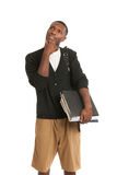 African American College Student Expression Royalty Free Stock Images
