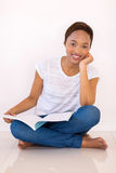 African american college student Stock Photography